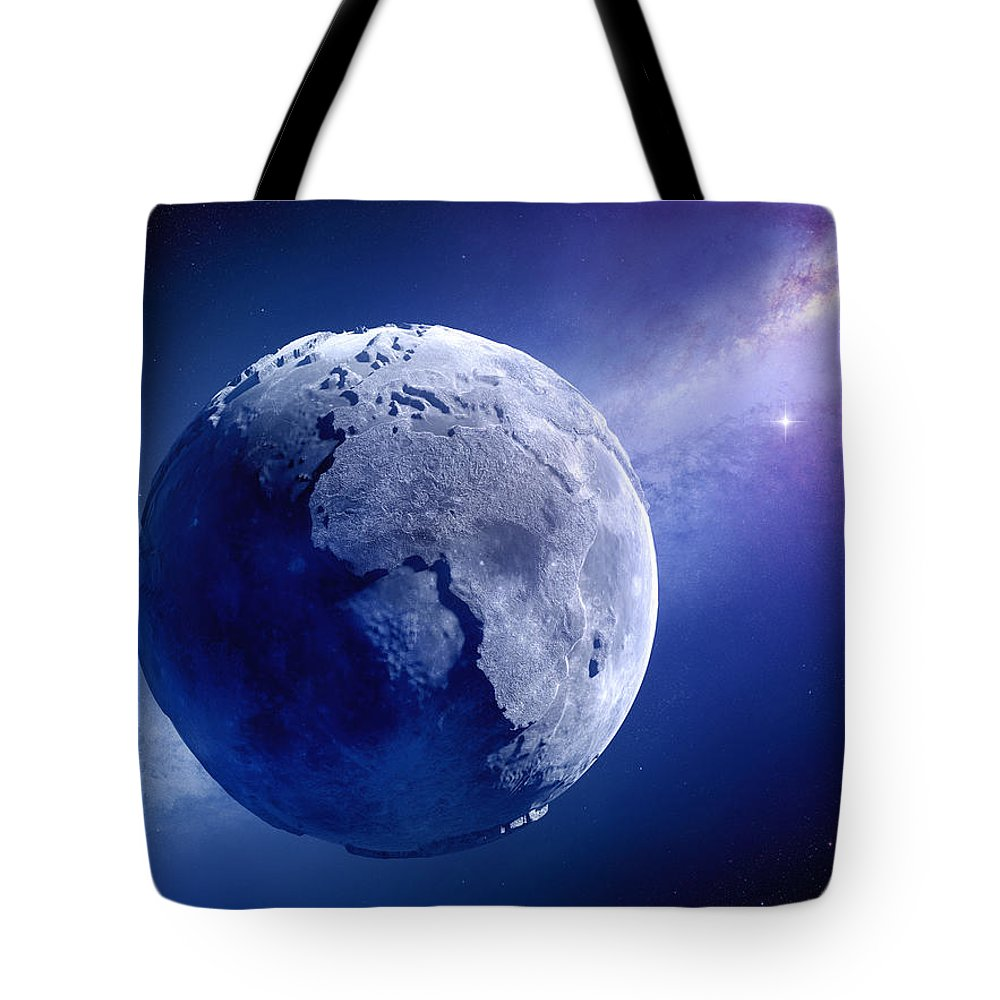Earth Tote Bag featuring the photograph Lifeless Earth by Johan Swanepoel