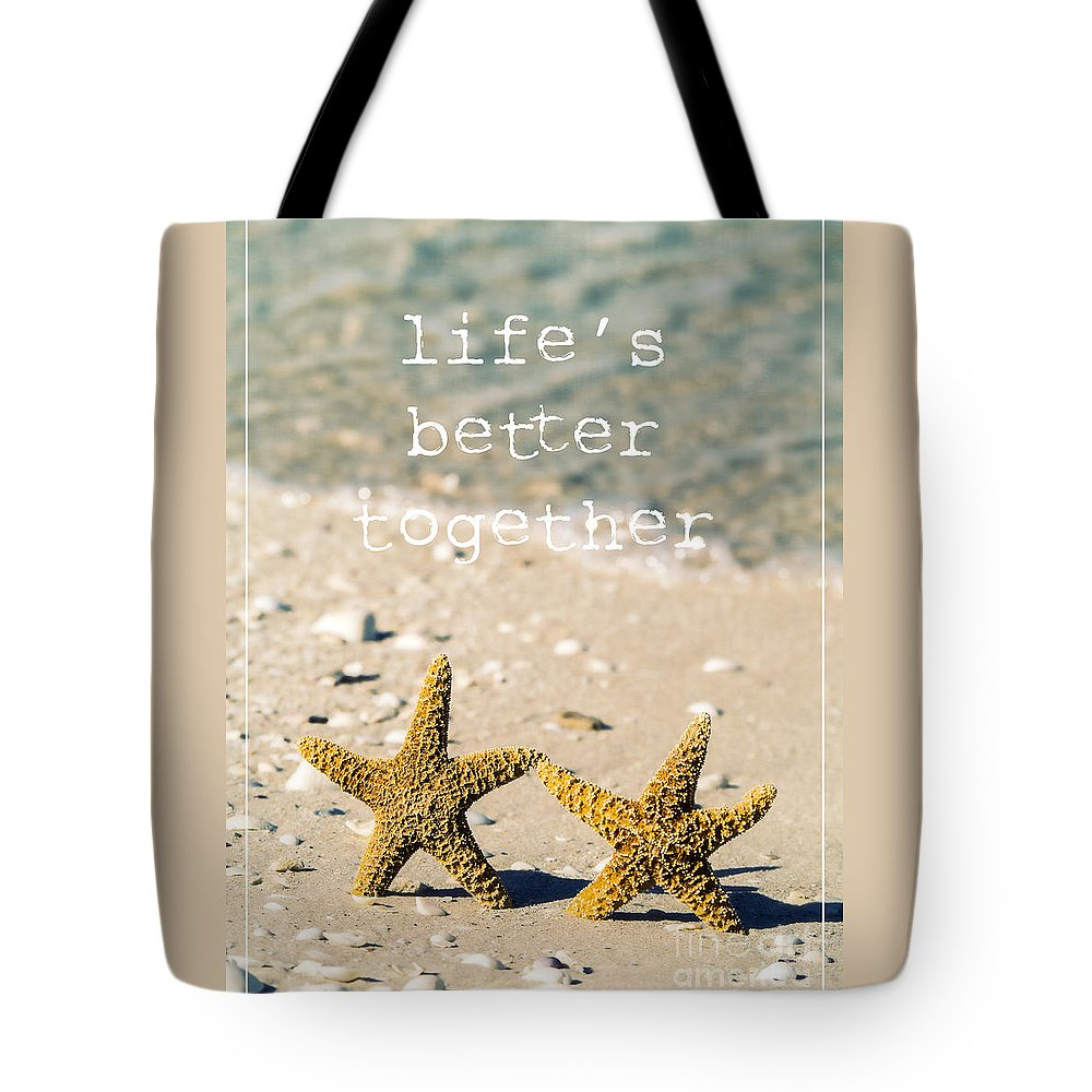 Beach Houses Tote Bags