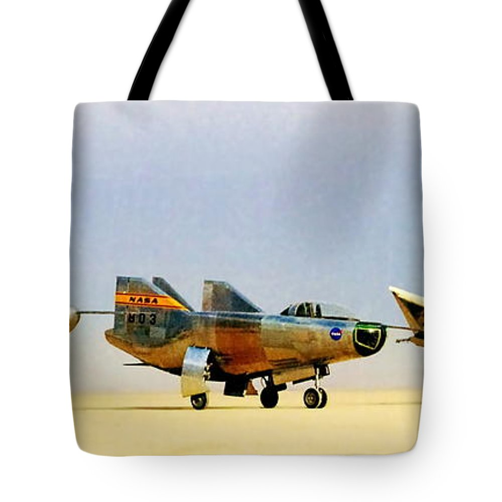 Nasa Tote Bag featuring the photograph Lifting Bodies by Benjamin Yeager
