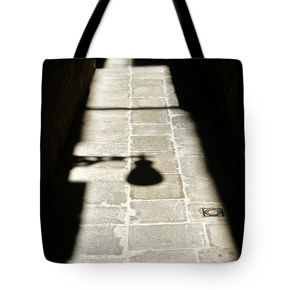 Venice Tote Bag featuring the photograph Light And Shade by Christopher Rees
