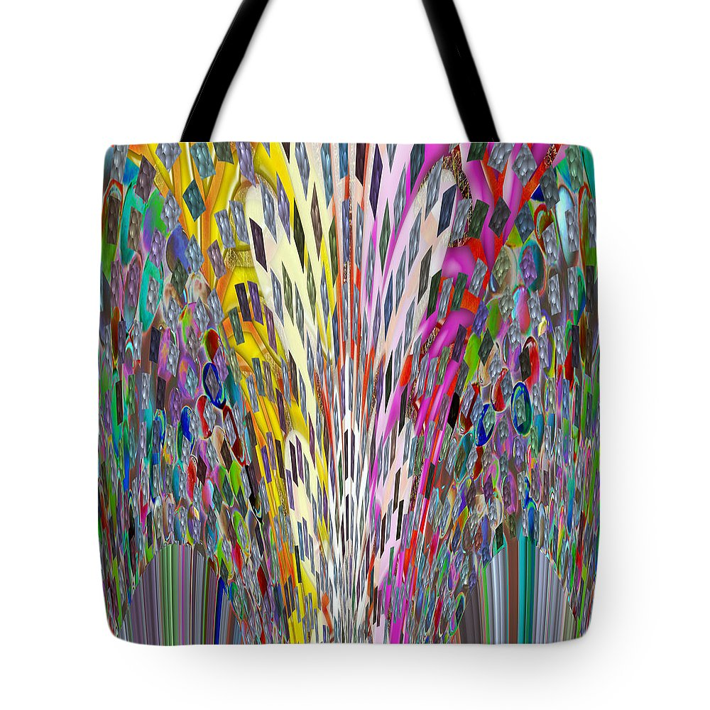 las vegas tote bag featuring the mixed media light sparkle show wedding n festival decorations christmas - Christmas Digital Decorations