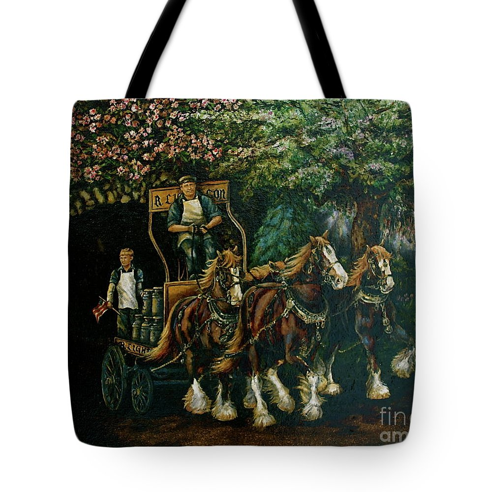 Tote Bag featuring the painting Light Touch by Linda Simon