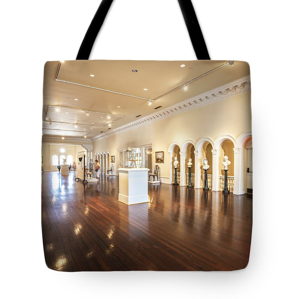 Lightner Museum Tote Bag featuring the photograph Lightner Museum 1 by Rich Franco
