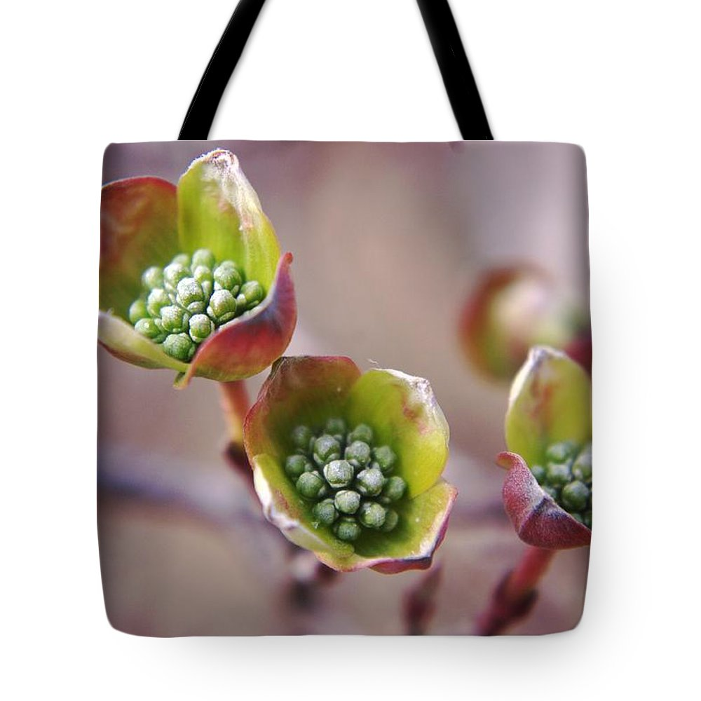 Macros Tote Bag featuring the photograph Like A Little Miracle In Front Of Your Very Eyes by Jeff Swan
