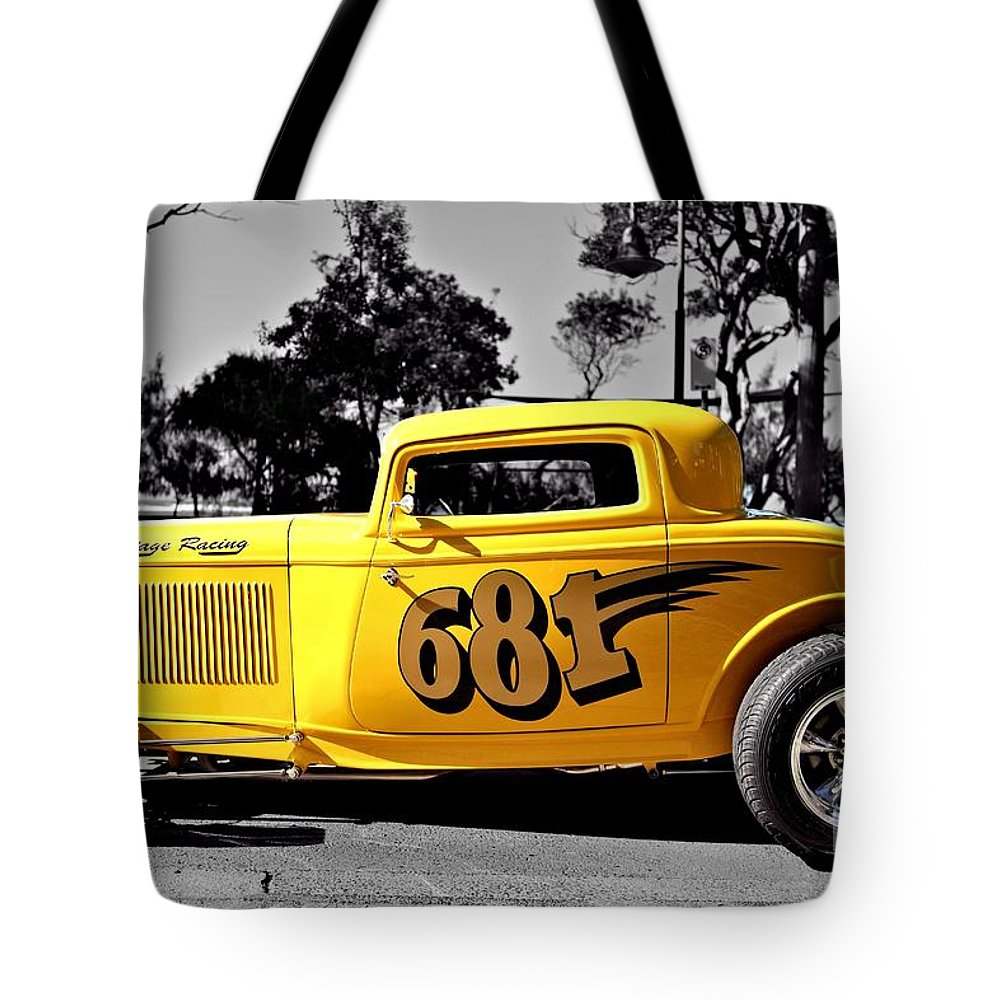 Coupe Tote Bag featuring the photograph Lil' Deuce Coupe by Howard Ferrier