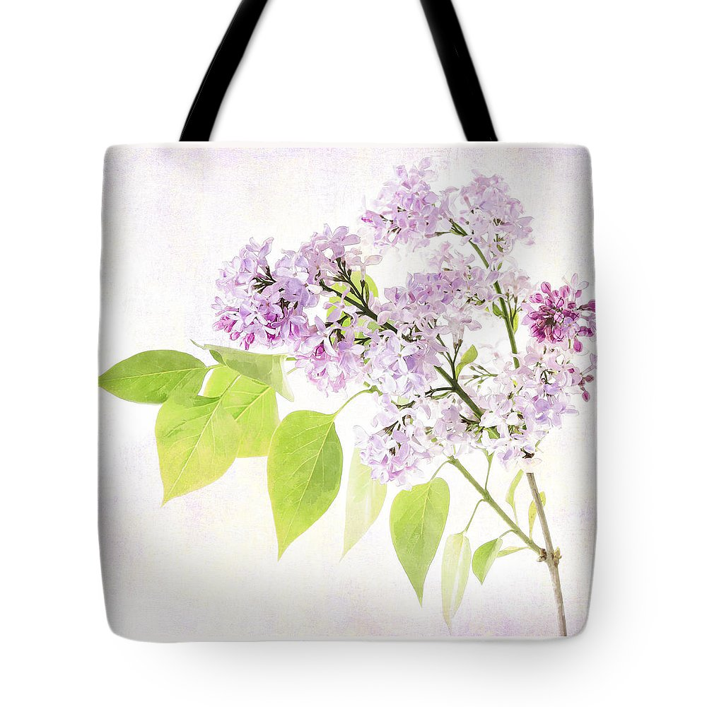 Lilac Tote Bag featuring the photograph Lilac by Julie Woodhouse