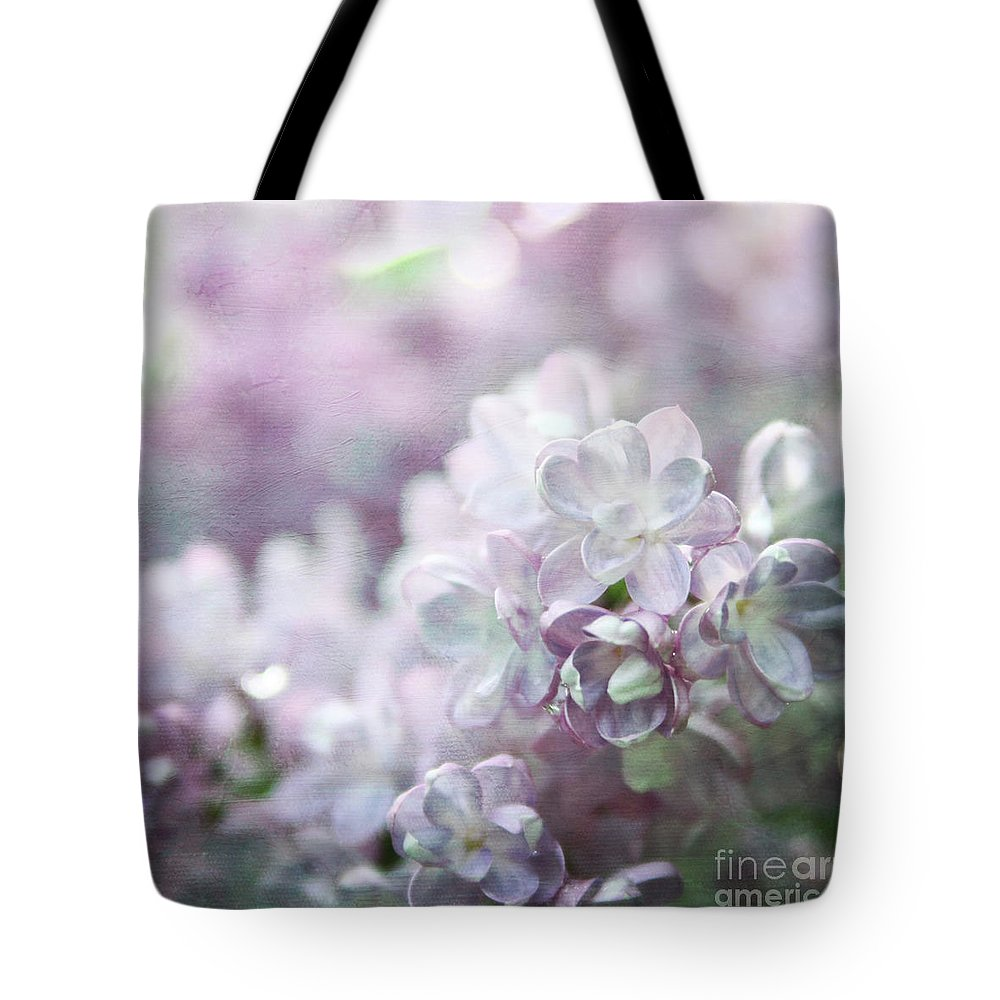 Lilacs Tote Bag featuring the photograph Lilacs by Sylvia Cook
