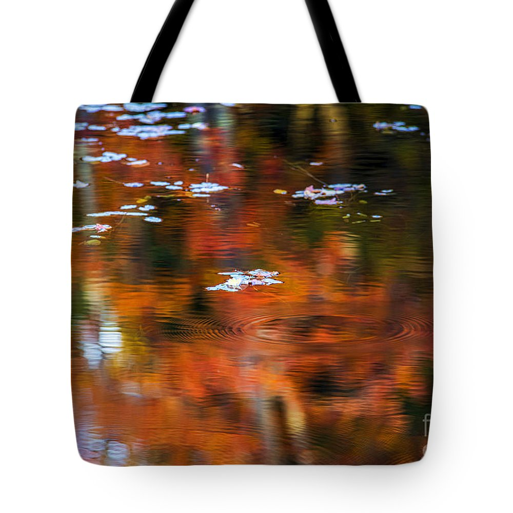Lily Tote Bag featuring the photograph Lily Pads by Alana Ranney