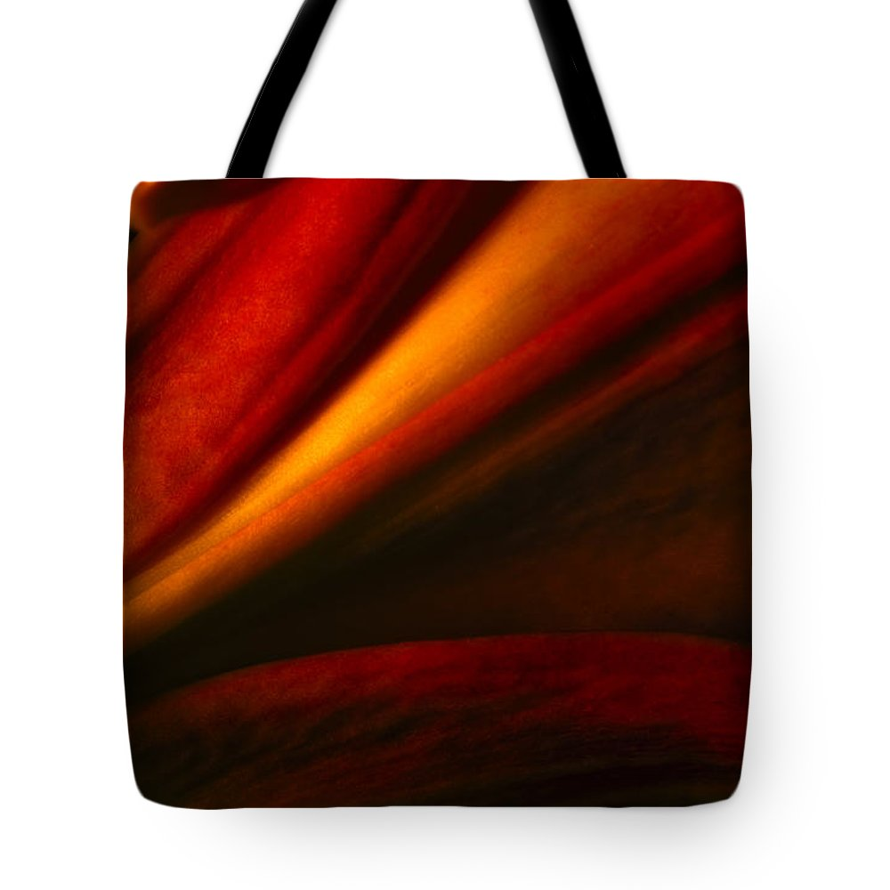 Flowers Tote Bag featuring the photograph Lily by Eric Ferrar