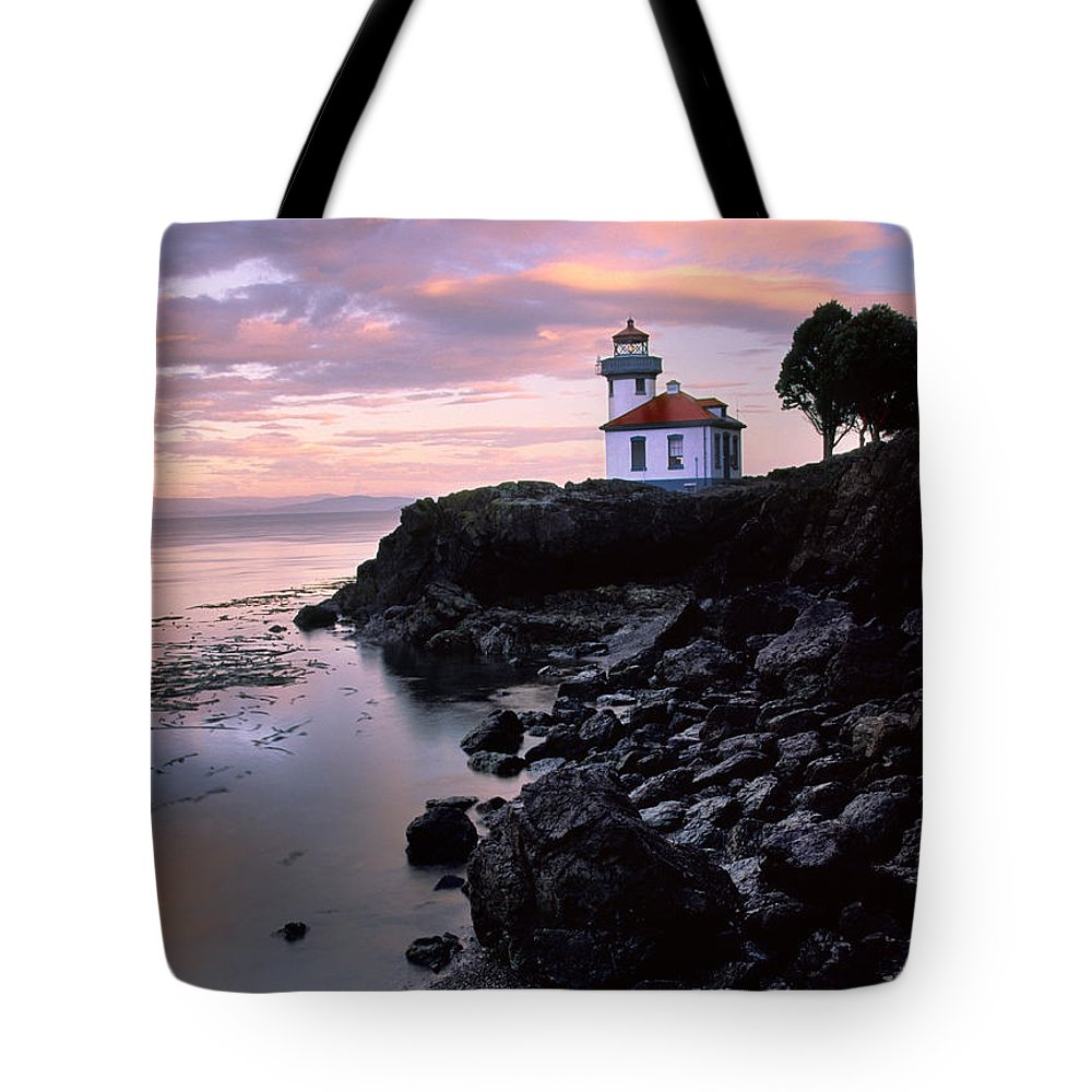 America Tote Bag featuring the photograph Lime Kiln Dawn by Inge Johnsson