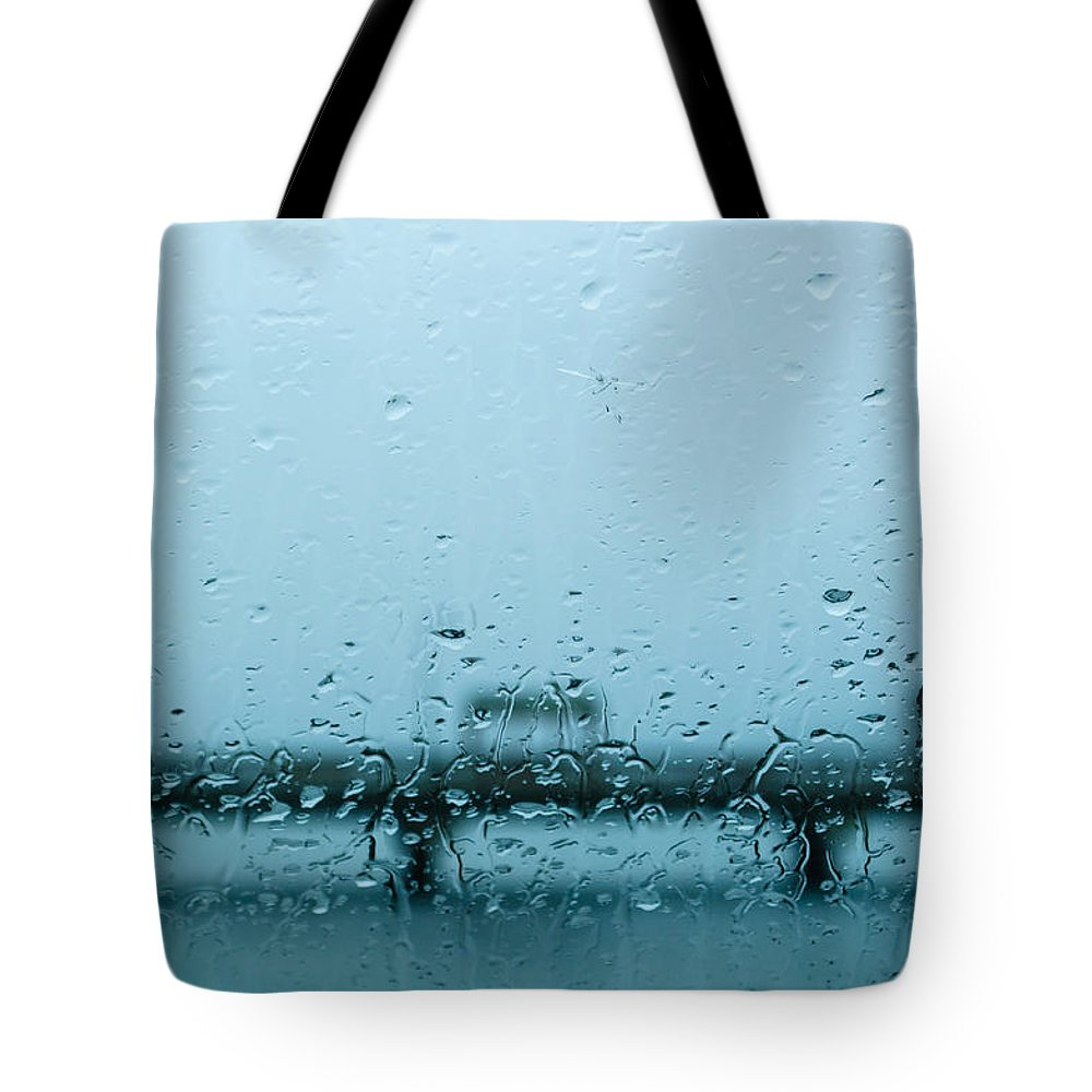 Weather Tote Bag featuring the photograph Liquid Sunshine by Tikvah's Hope