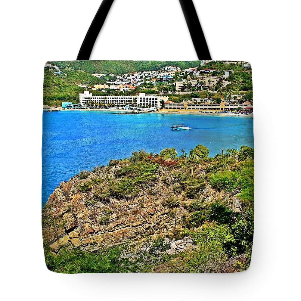 Little Bay Tote Bag featuring the photograph Little Bay by James Markey