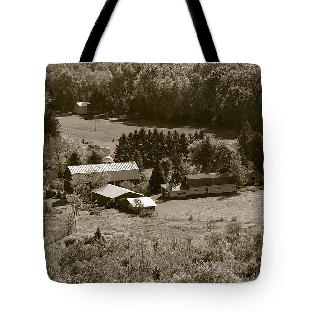 Farm Tote Bag featuring the photograph Little Bit Of Life by Tiffany Erdman