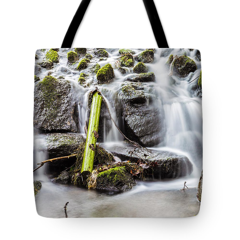 Dublin Tote Bag featuring the photograph Little Cascade In Marlay Park by Semmick Photo