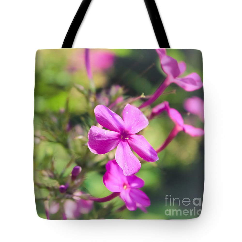 Flower Tote Bag featuring the photograph Little Flowers by Colleen Kammerer