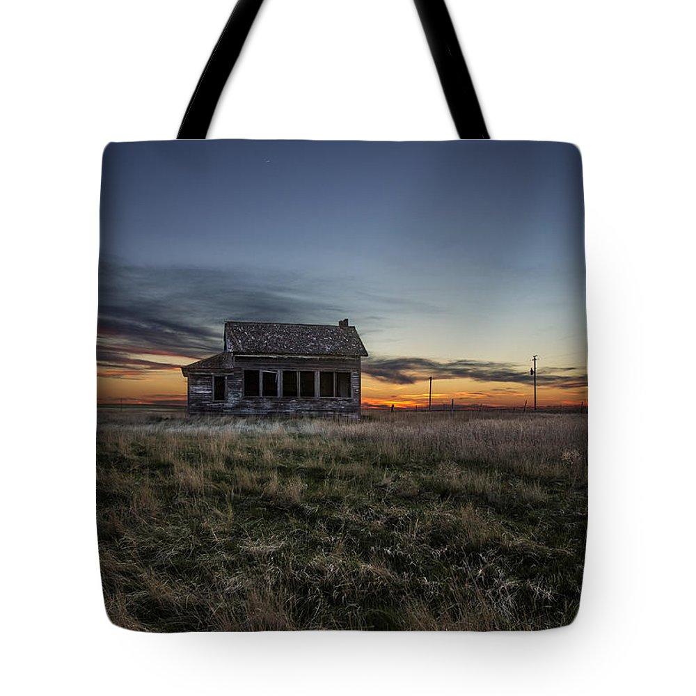 Prairie Sunset Tote Bags