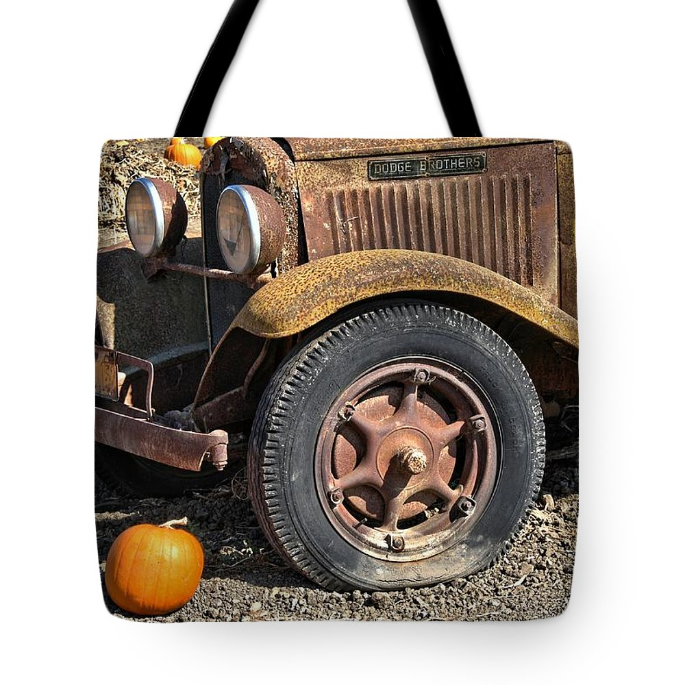 Pumpkin Tote Bag featuring the photograph Little One by Michael Gordon
