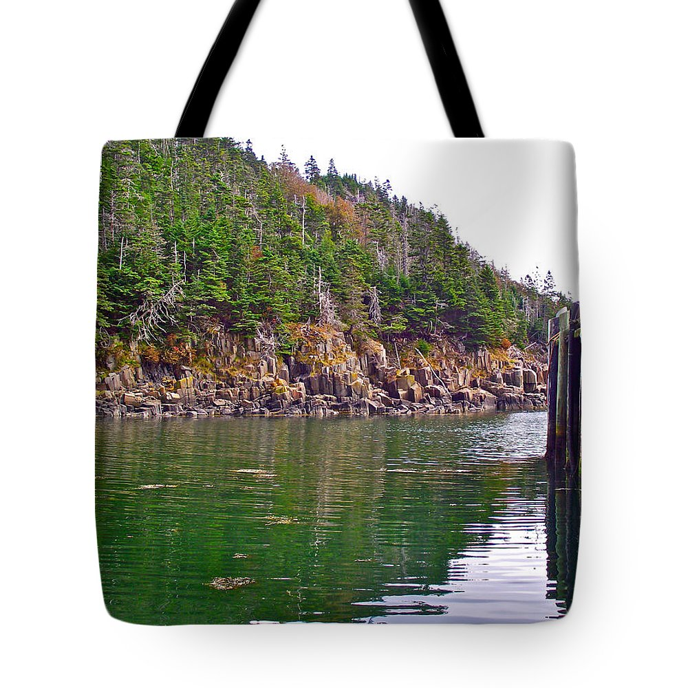 Little River In Digby Neck Tote Bag featuring the photograph Little River In Digby Neck-ns by Ruth Hager