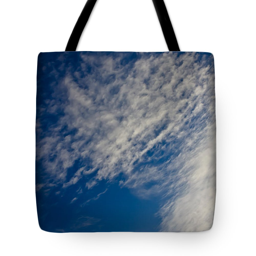 Clouds Tote Bag featuring the photograph Living Sky 1 by Joel Loftus
