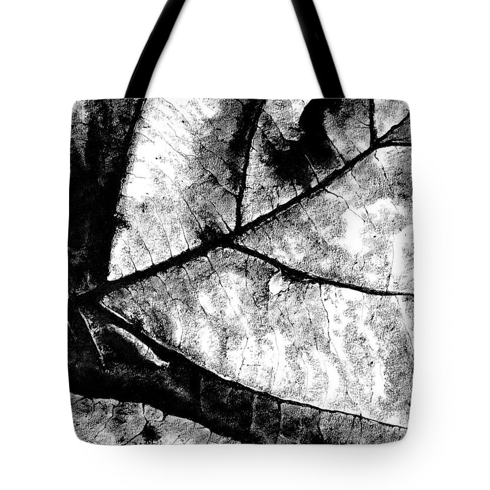 Drawing Tote Bag featuring the drawing Living Structure I by Iliyan Bozhanov