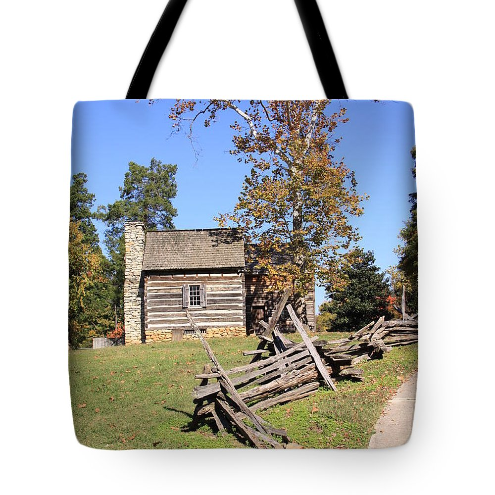 1800's Tote Bag featuring the photograph Living The Rough Life by Melvin Busch