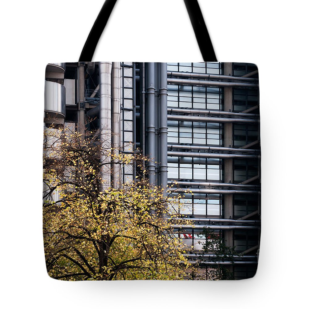 Lloyds Tote Bag featuring the photograph Lloyd's Of London 02 by Rick Piper Photography
