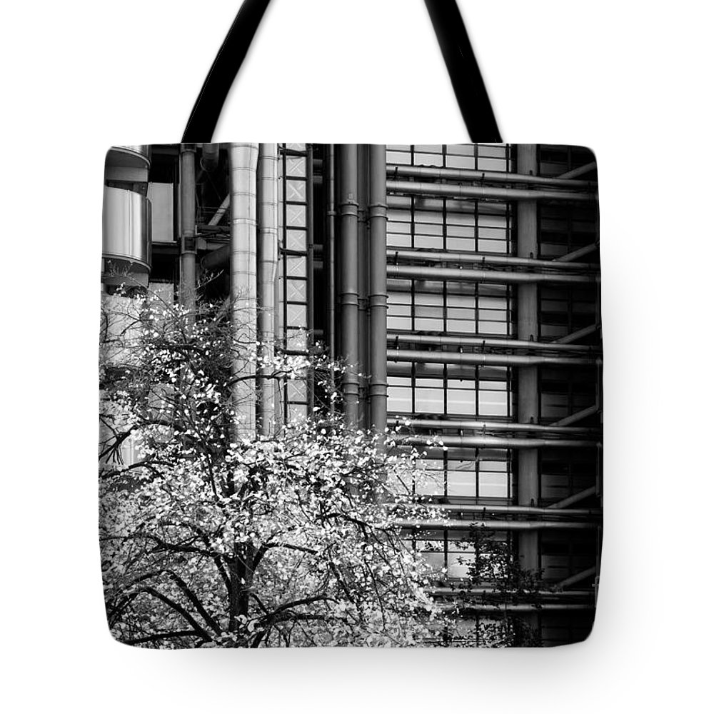 Lloyds Tote Bag featuring the photograph Lloyd's Of London 05 by Rick Piper Photography