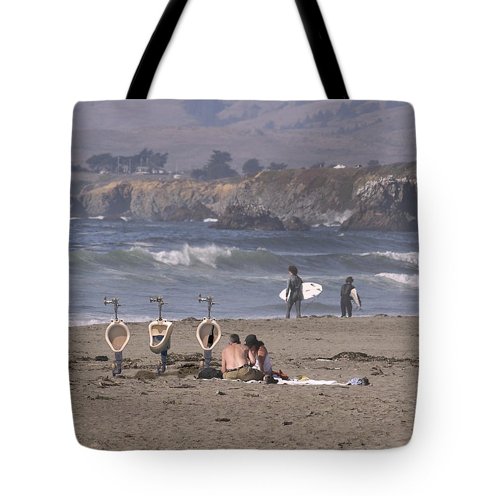 Montages Tote Bag featuring the photograph Location Location Location by Greg Wells