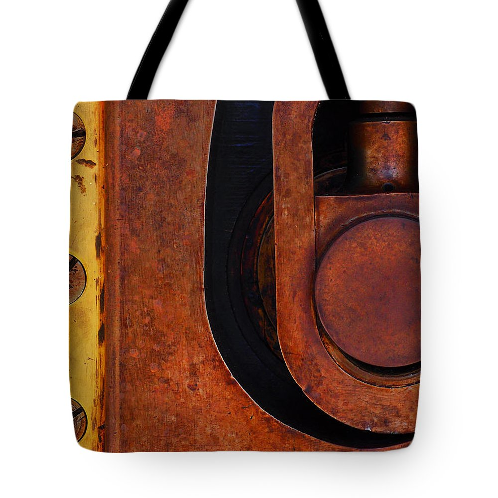 Lock Down Tote Bag featuring the photograph Lock Down by Skip Hunt