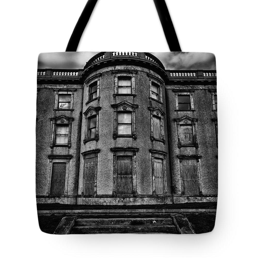 Loftus Hall Tote Bag featuring the photograph Loftus Hall by Nigel R Bell
