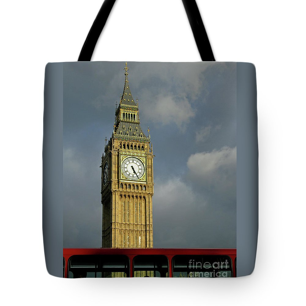 London Icons By Ann Horn Tote Bag featuring the photograph London Icons by Ann Horn
