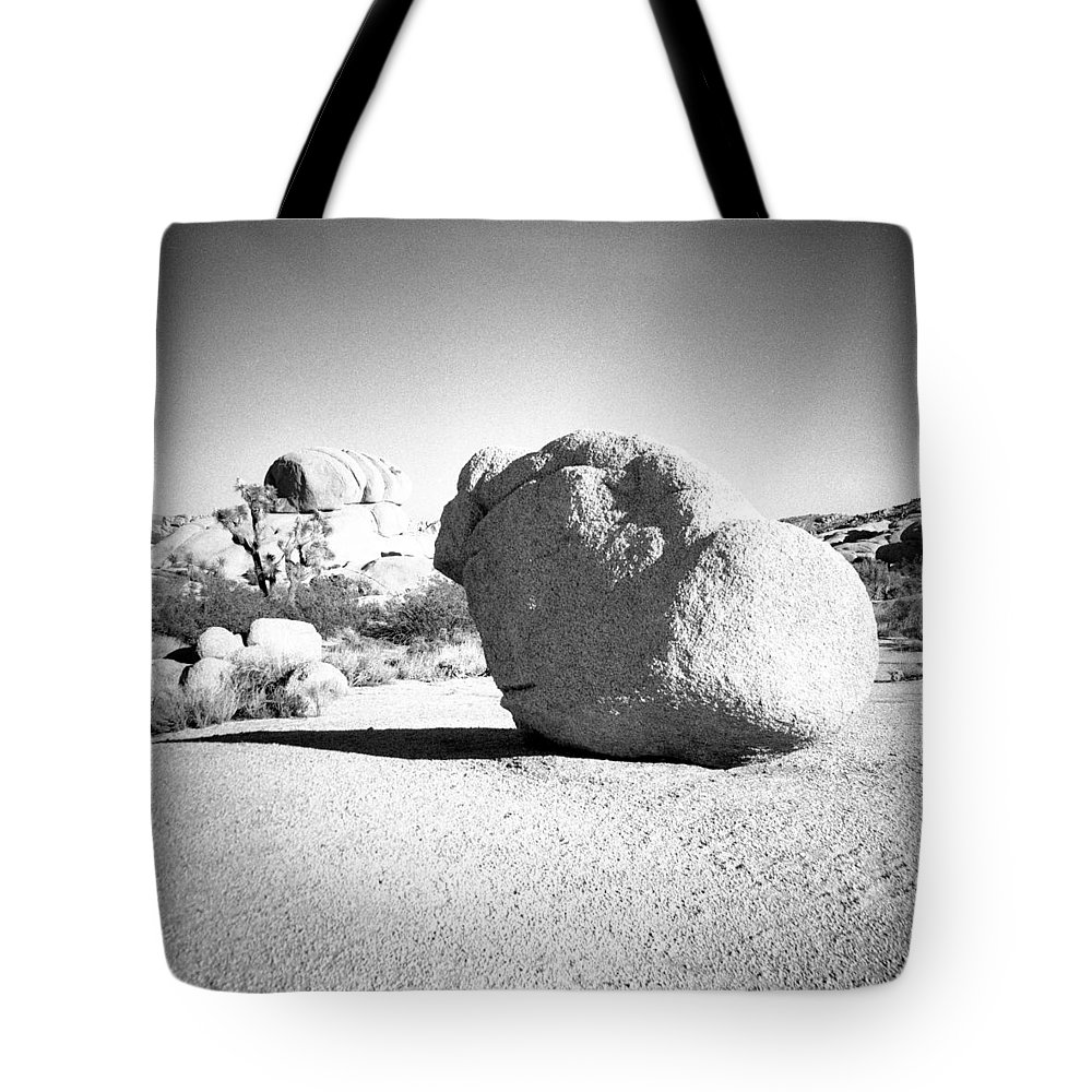 Diana F+ Tote Bag featuring the photograph Lone Rock by Alex Snay