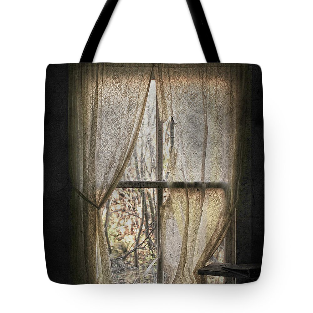 Country Tote Bag featuring the photograph Lonely Me by The Artist Project