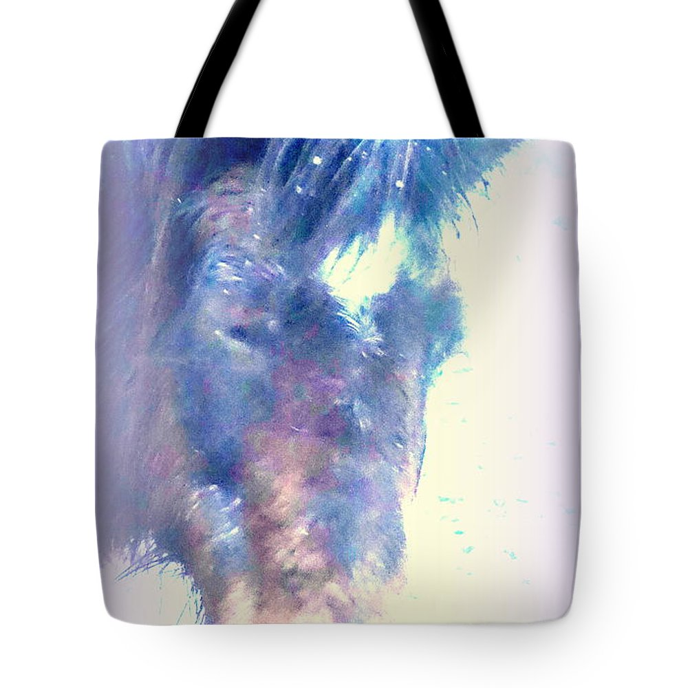 Bird Tote Bag featuring the photograph I Hope There Is Hope For A Lonely Pony by Hilde Widerberg