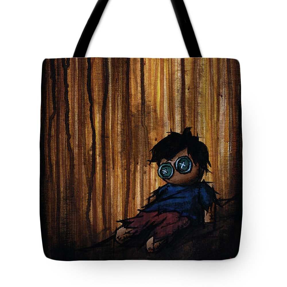 Lonesome Tote Bag featuring the painting Lonesome by Marlon Huynh
