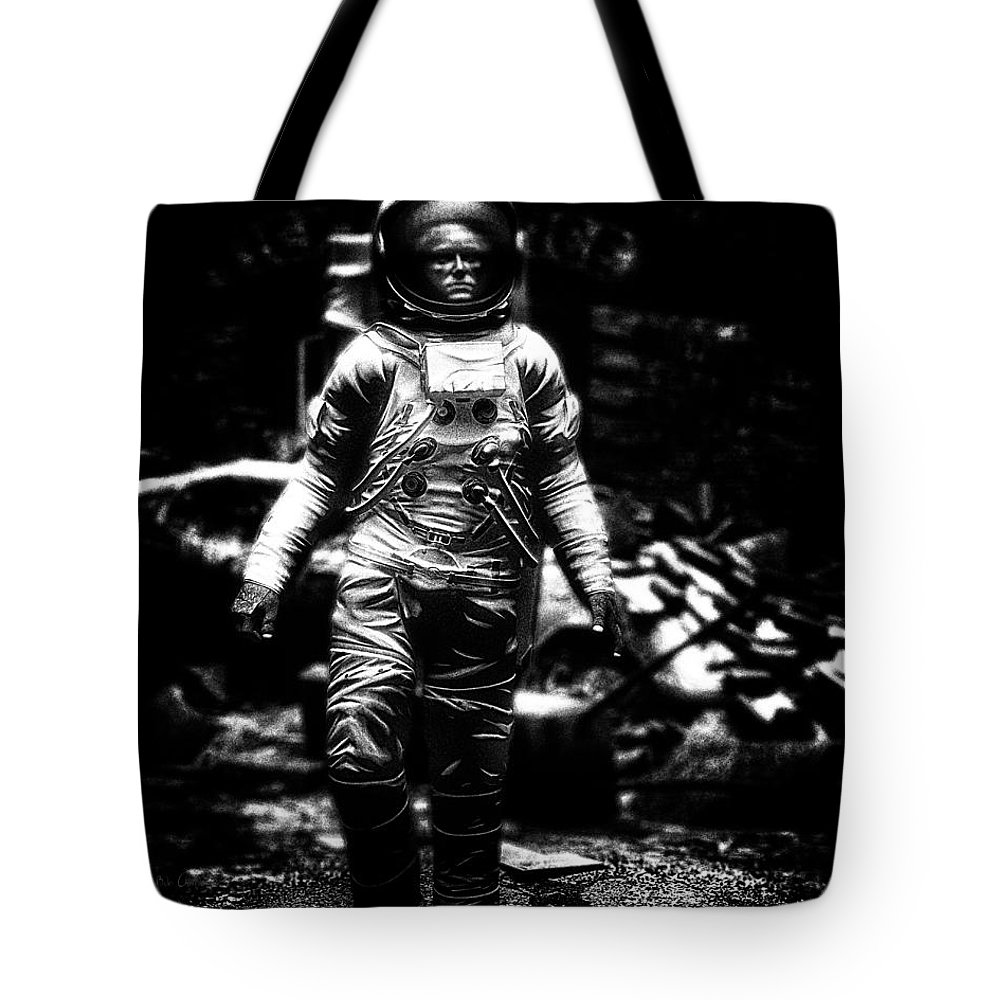 Astronaut Tote Bag featuring the photograph Long Time Gone by Bob Orsillo