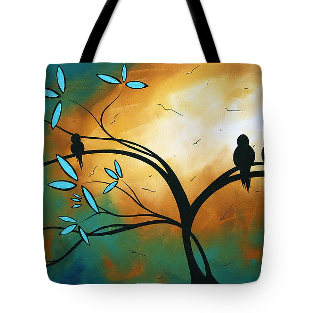 Art Tote Bag featuring the painting Longing By Madart by Megan Duncanson