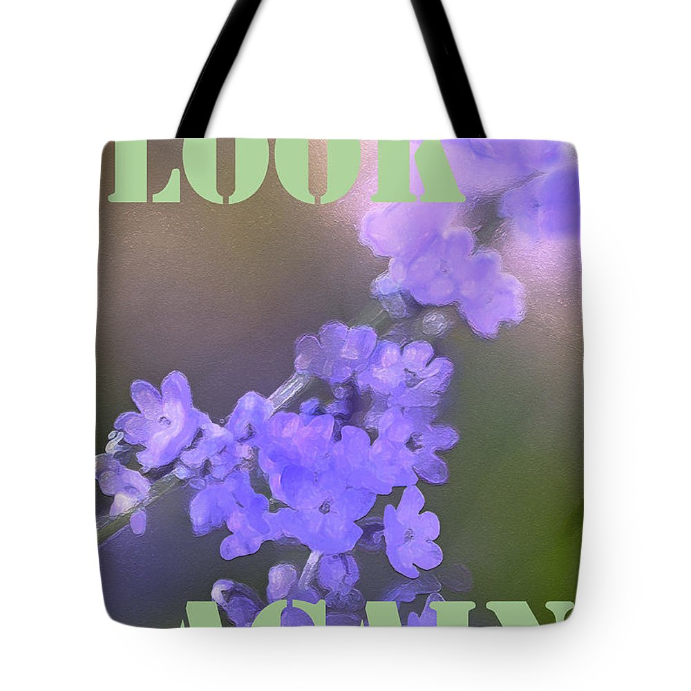 Look Again Tote Bag featuring the photograph Look Again by Pamela Cooper