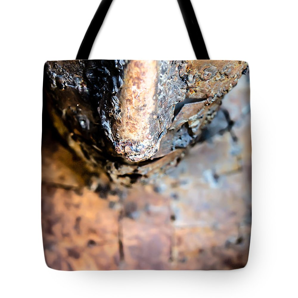 Ancient Tote Bag featuring the photograph Look At Me by Sotiris Filippou