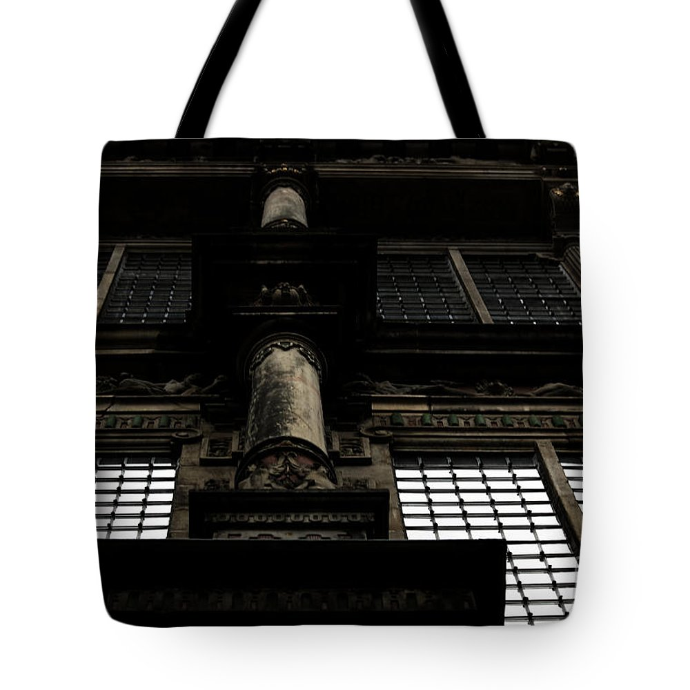 City Hall Tote Bag featuring the photograph Look Up by Four Hands Art