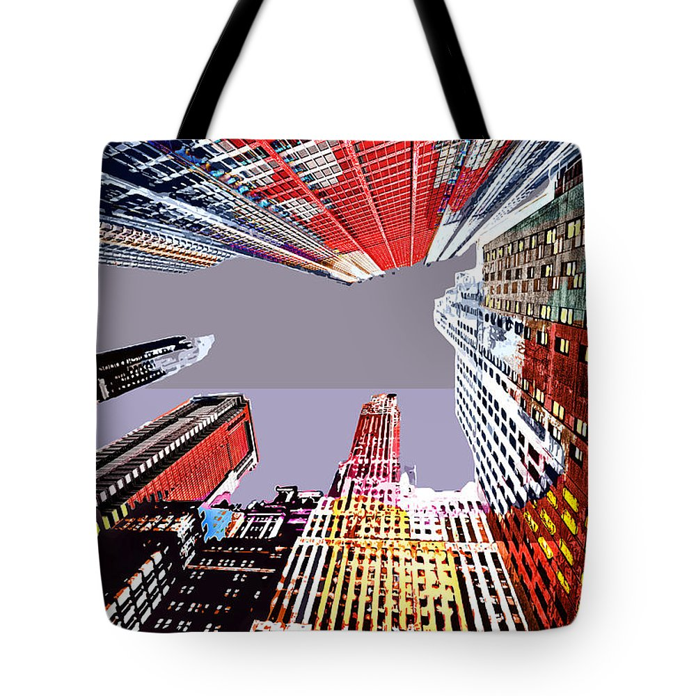Illustration Tote Bag featuring the digital art Look Up by Neil Hemsley