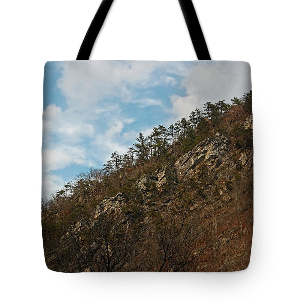 Mountain Tote Bag featuring the photograph Look Up by Suzanne Gaff