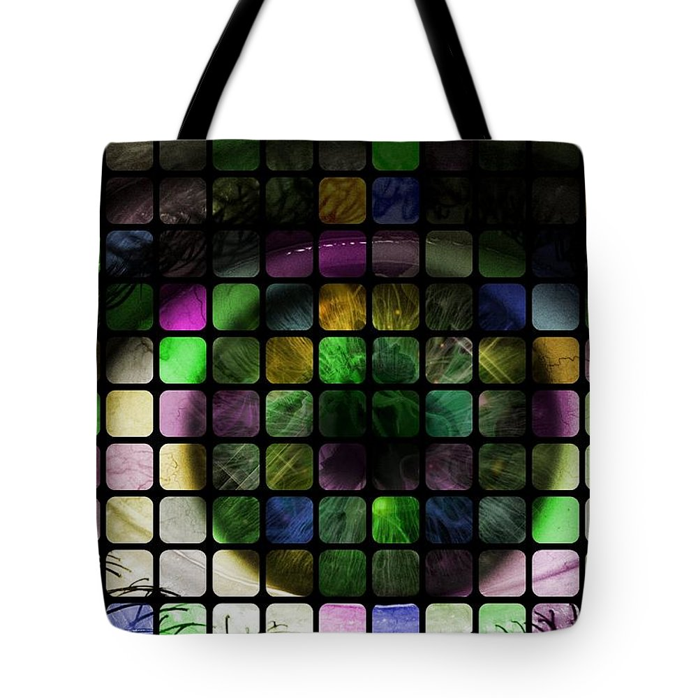 Eye Tote Bag featuring the photograph Looking Past The Stars by Florian Rodarte