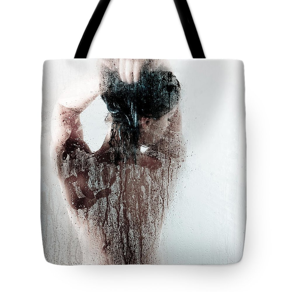 Implied Nude Tote Bags