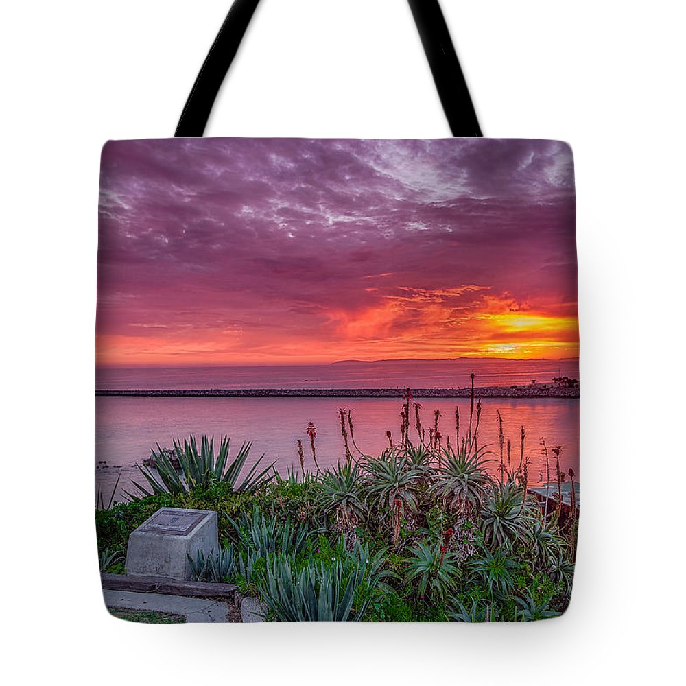 California Photography Tote Bag featuring the photograph Lookout Point by Dave Muesbeck