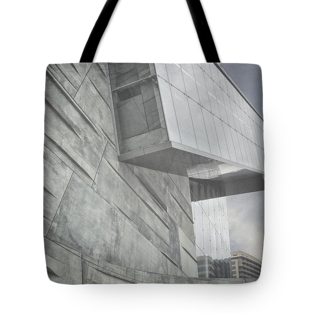 Museum Tote Bag featuring the photograph Looming by Joan Carroll