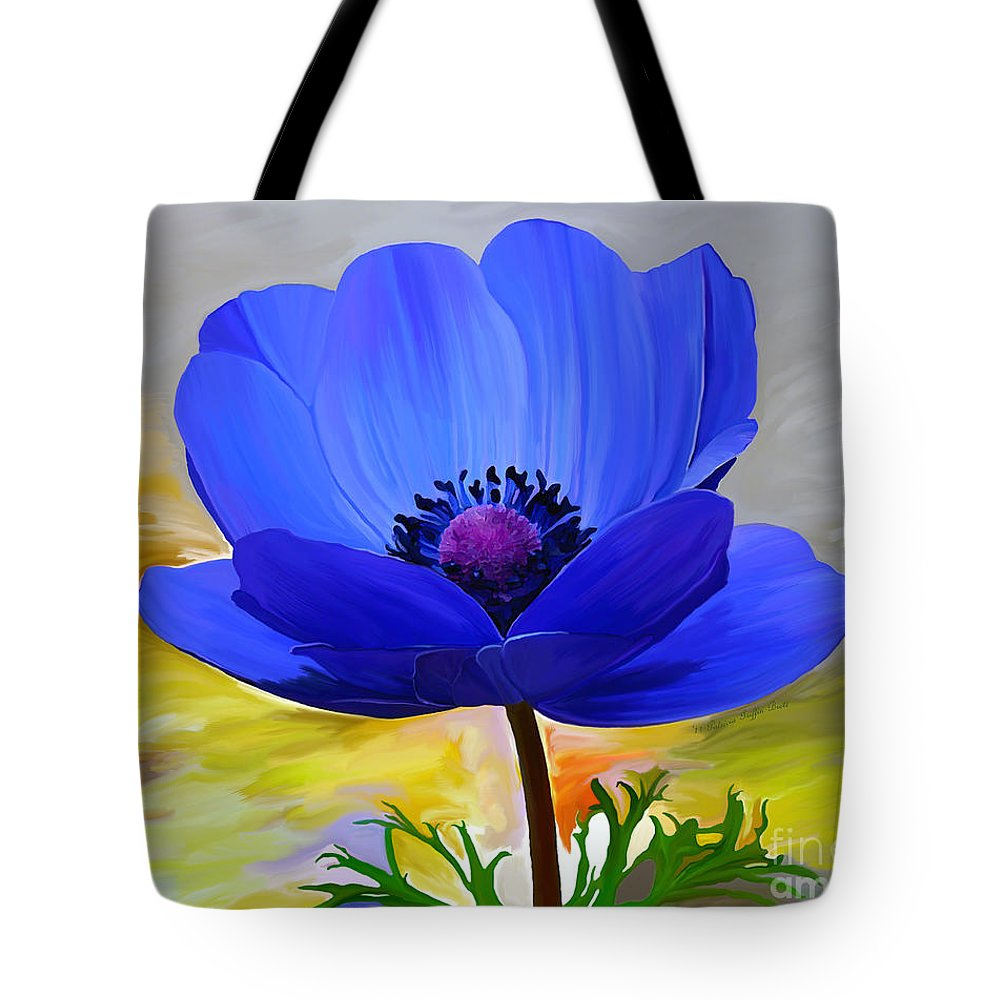 Fine Art Tote Bag featuring the painting Lord Lieutenant by Patricia Griffin Brett