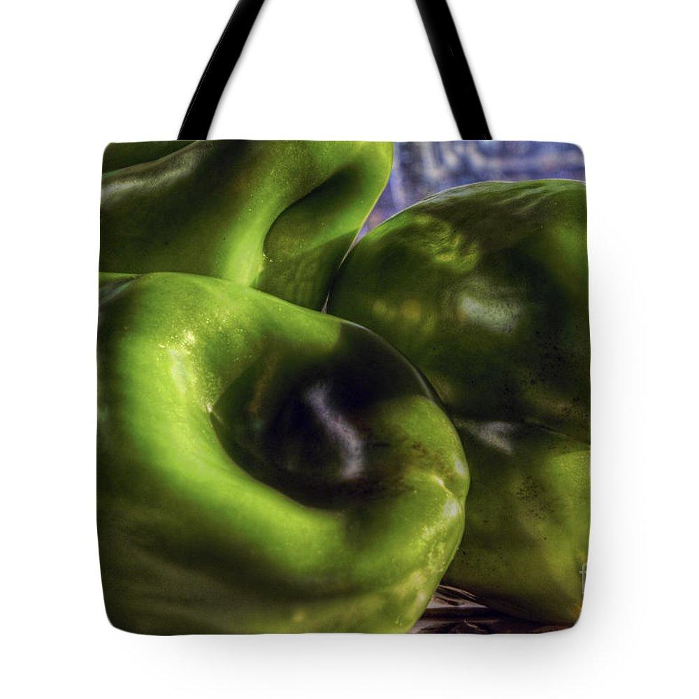 Tres Amigos Tote Bag featuring the photograph Los Tres Amigos Verdes by Gary Holmes