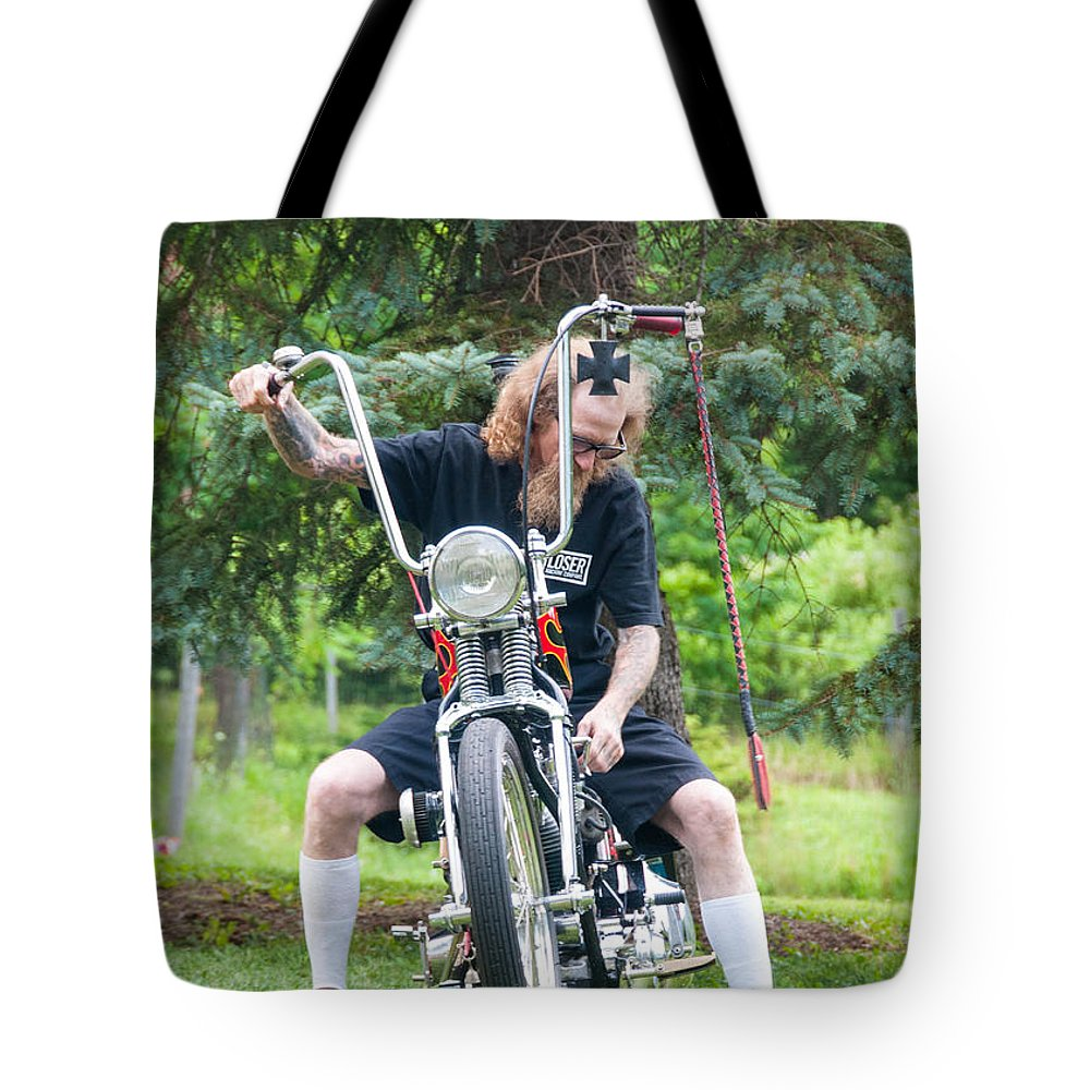 Vehicle Tote Bag featuring the photograph Loser by Guy Whiteley