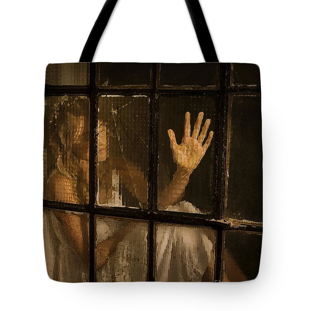 Festblues Tote Bag featuring the photograph Lost Dreams.. by Nina Stavlund
